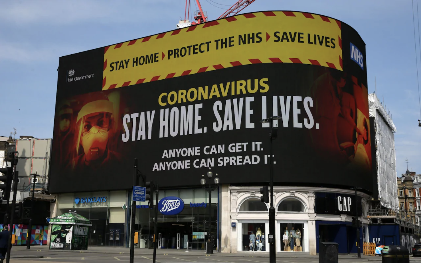 Coronavirus government poster