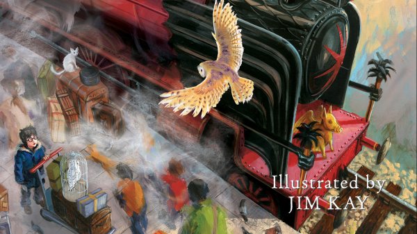 Harry Potter the Philosopher's Stone Illustrated Edition