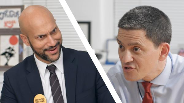 Keegan-Michael Key & David Miliband