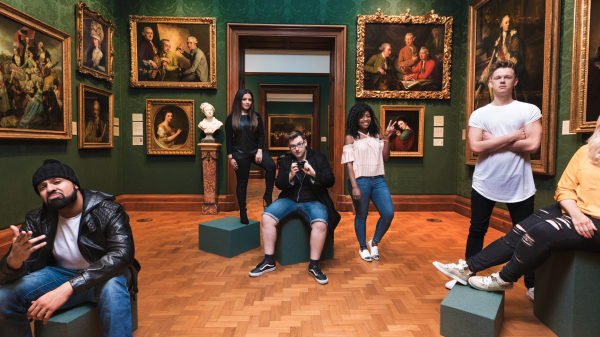 #MadeForYou 360˚photo in the National Portrait Gallery