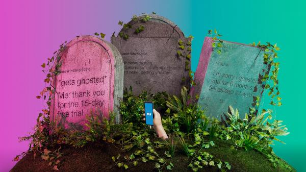 gravestones with texts inscribed on them