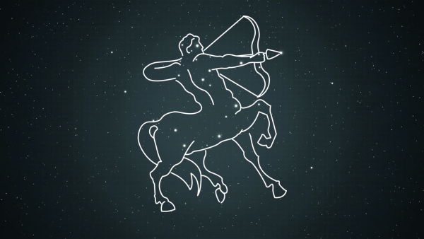 Illustration of the Centaurus constellation
